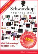 Schwarzkopf toodete allahindlus!