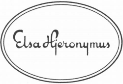 ELSA HJERONYMUS